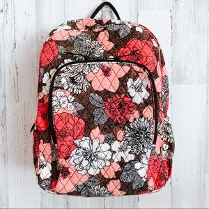 Vera Bradley Mocha Rogue Backpack